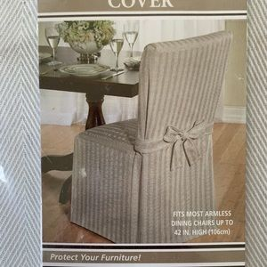 august grove dining chair slip cover SINGLE